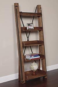 American Furniture Classics Model Five Shelf Ladder Bookcase