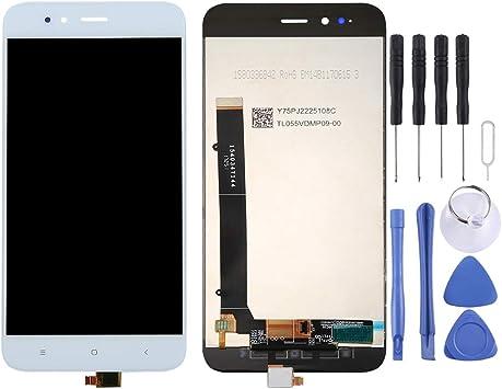 Phone para Xiaomi Mi 5X / A1 Pantalla LCD y ensamblaje Completo del digitalizador (Negro) (Color : Blanco): Amazon.es: Electrónica