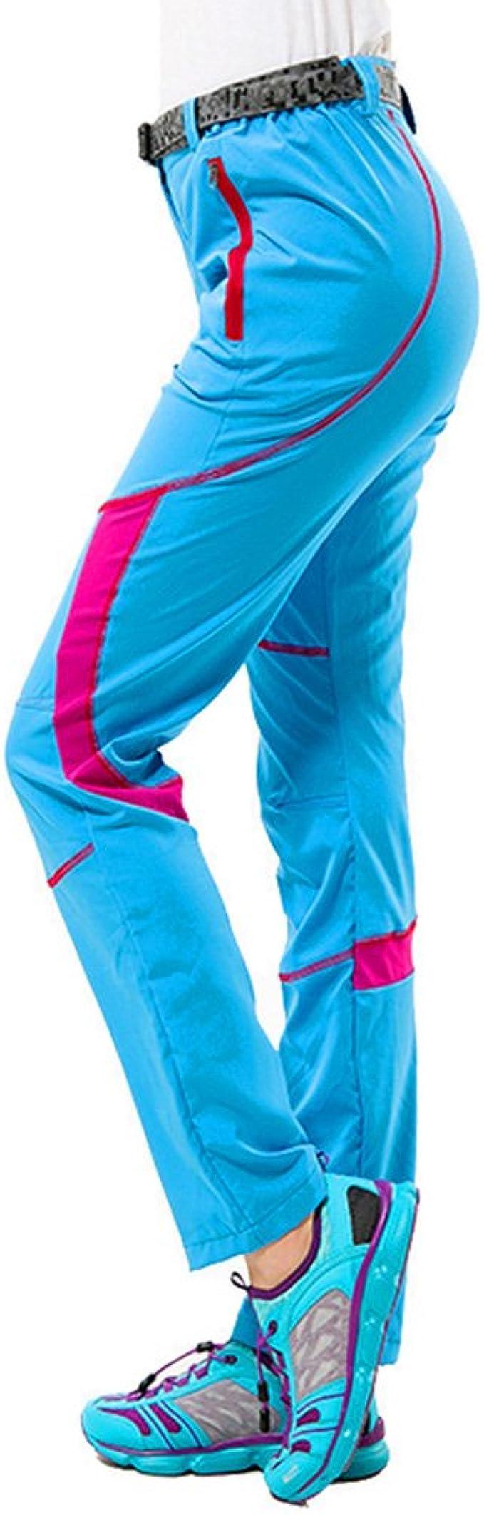 CIKRILAN Pantalones largos para mujer, transpirables, de ...