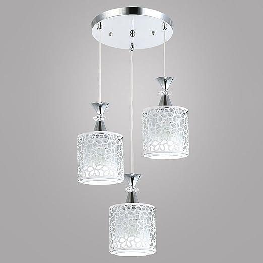ZYJ techo plafón colgante Vintage lámpara de techo 3 focos Diseño ...