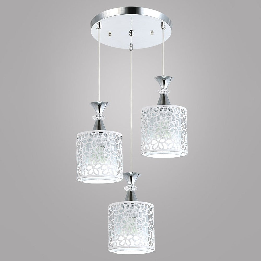 DEVOL Pendant Light Modern 3 Lights Chandelier Contemporary ...