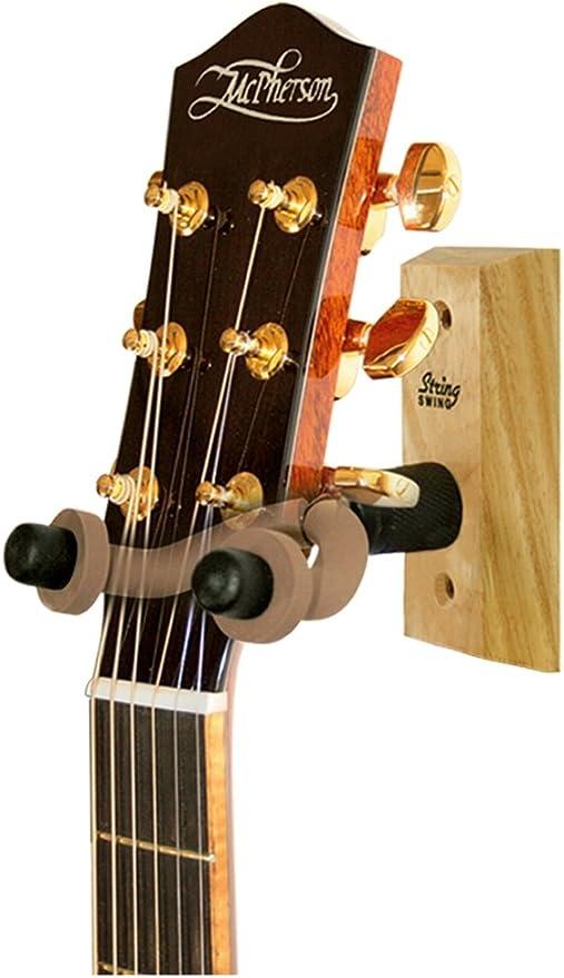 Colgador de guitarra de String Swing, modelo CC01, de madera, para ...