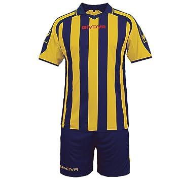 givova kitc24, Camiseta y Pantalón Corto De Fútbol Unisex Adulto: Amazon.es: Deportes y aire libre
