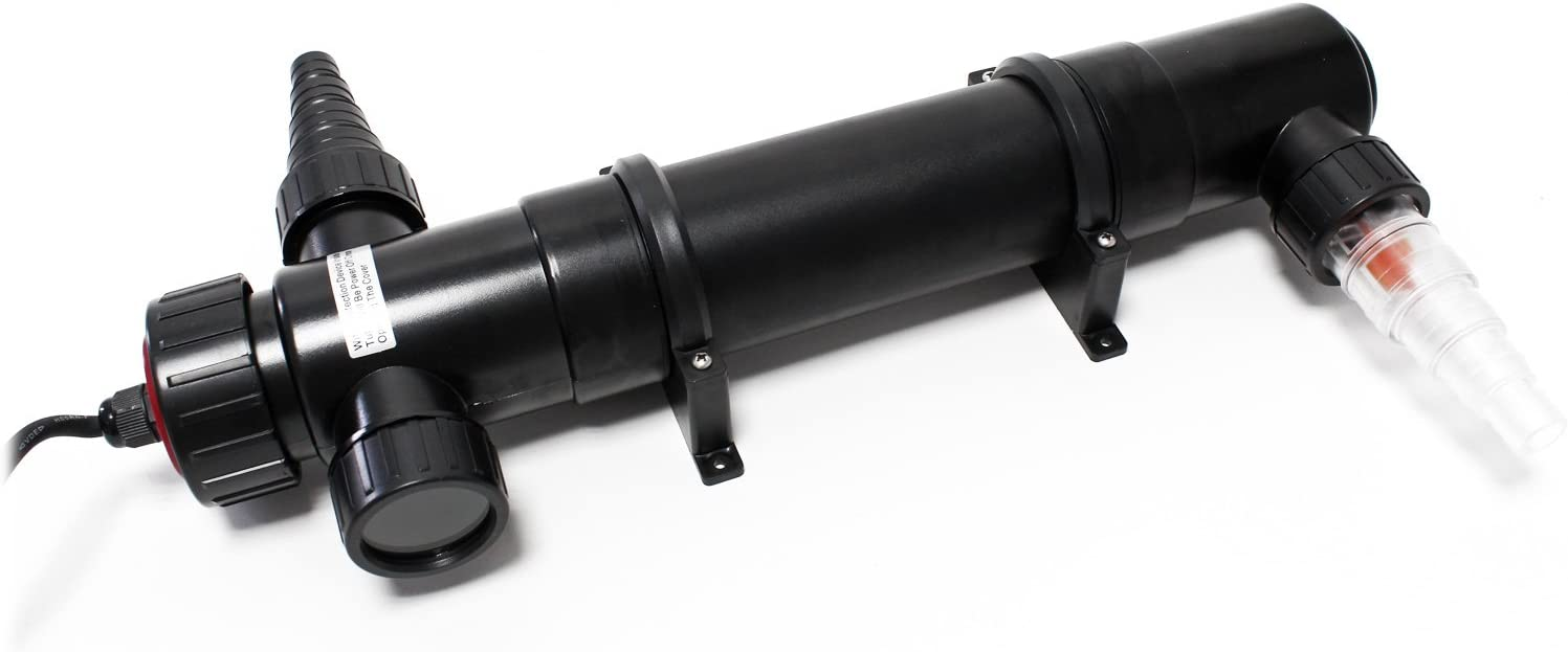 SunSun CUV-136 clarificador Agua estanques Filtro luz lámpara UV aclarador 36W jardín Bomba Filtro