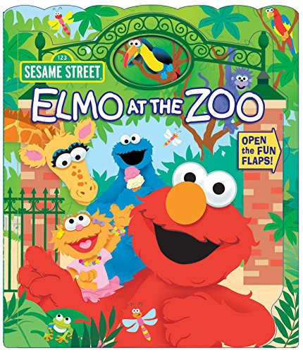 Sesame Street: Elmo at the Zoo (Open Door Book) (Star Elmo)