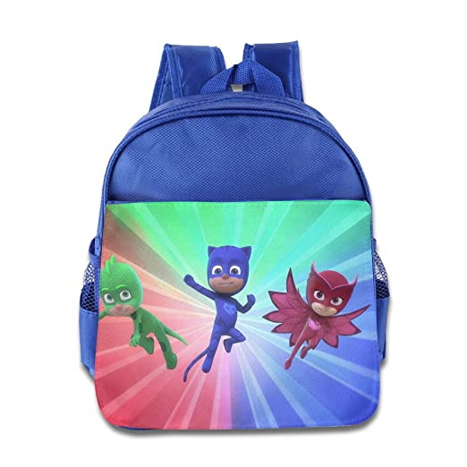 Pj Masks Kids School Bag RoyalBlue