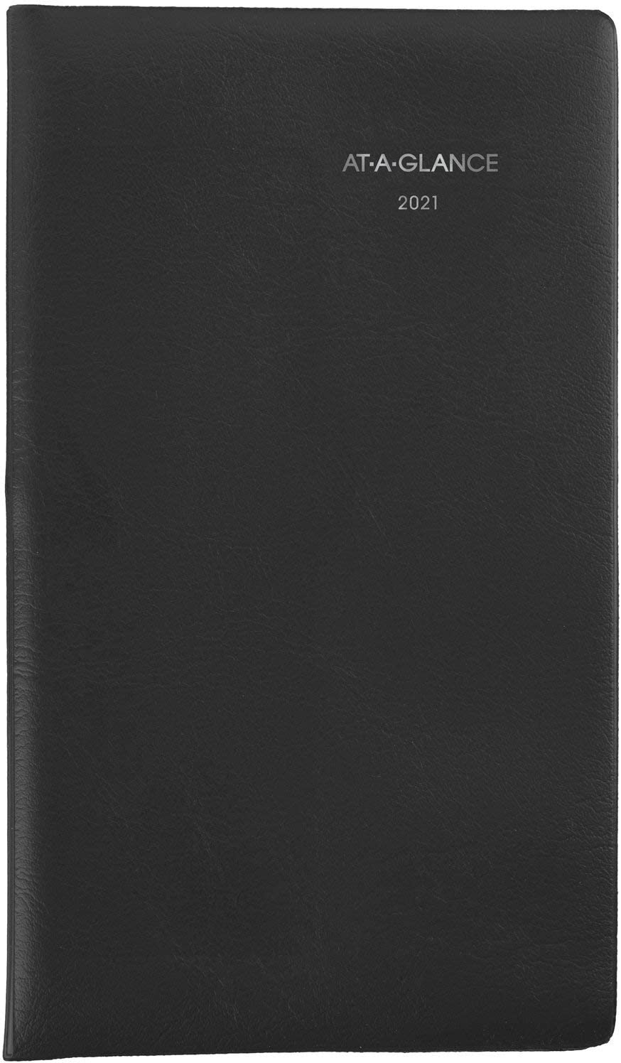 "2021 Pocket Calendar by AT-A-GLANCE, Weekly Planner, 3-1/2"" x 6"", Pocket Size, DayMinder, Black (SK480021)"