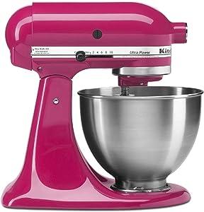 KitchenAid 4.5 Quart Tilt Head Stand Mixer, Cranberry Color
