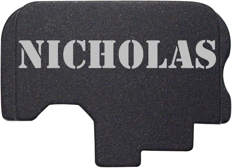 Ndz Performance For Kahr Arms Rear Slide Cover Plate Ct Cw Cm Tp P Pm Black Names Nicholas