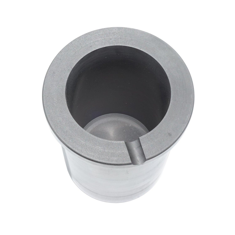 Eforlife Pure Graphite Crucible Metal Melting Gold Silver Aluminum Scrap Casting Ingot Mould (5KG - Fit a Coke Can) by Eforlife (Image #5)