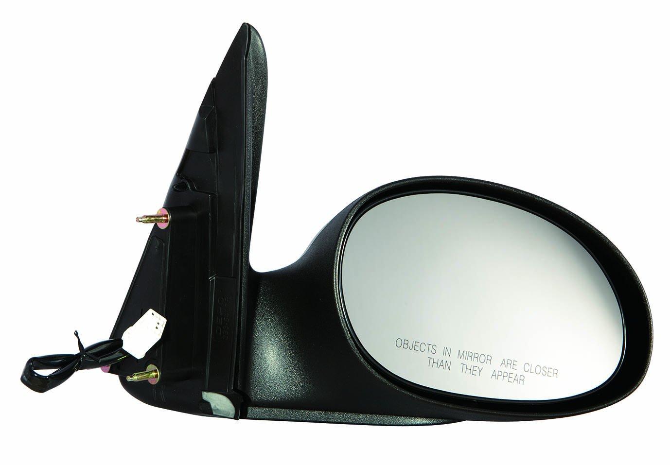 04-10 Without Fold-Away Type 2 Textured Depo 333-5417R3EF Chrysler PT Cruiser Passenger Side Power Mirror