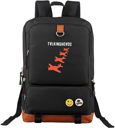 Talking Heads Large Capacity Casual Backpack School School Bag Travel Bag Men Business Bag Ladies Backpack