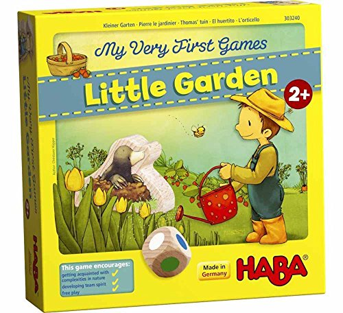 HABA My Very First Games Little Garden - Cooperative Board Game for Ages 2 + (Made in Germany) by HABA