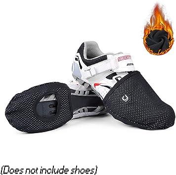 TZTED Ciclismo Cubre Zapatillas Bicicletas Ciclismo Windstopper Toe Cover, Wear Punteras Cortavientos: Amazon.es: Deportes y aire libre