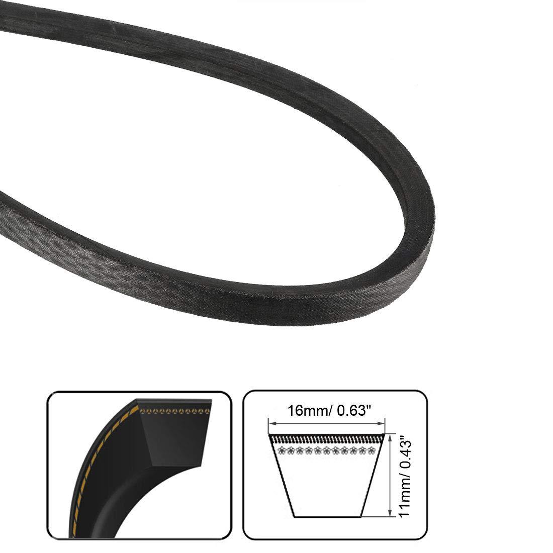 uxcell B-1473//B58 Drive V-Belt Inner Girth 58-inch Industrial Power Rubber Transmission Belt