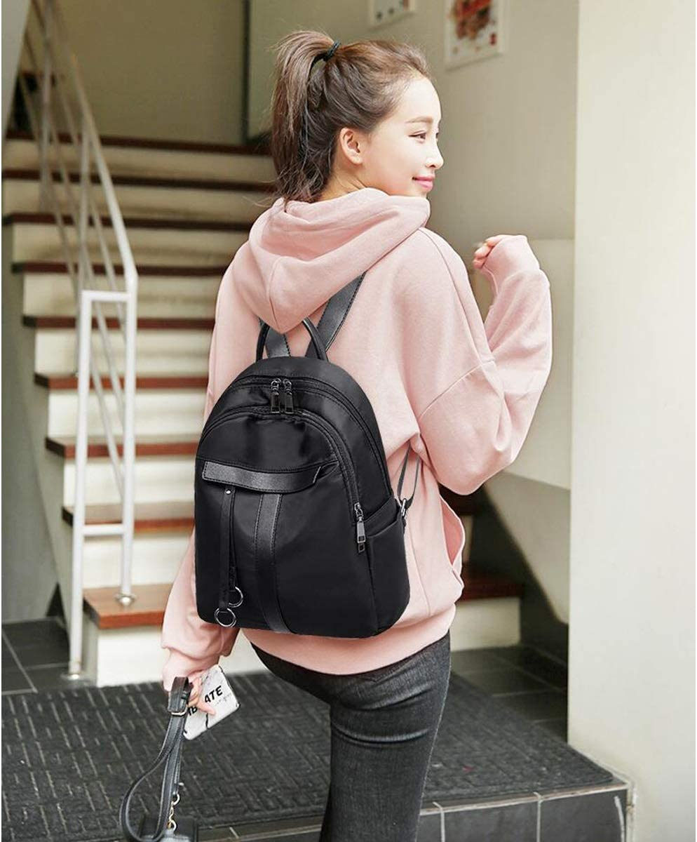 School Latest Models Work Three Colors Travel Guyuexuan The Girls Versatile Backpack is Perfect for Everyday Travel Simple and Generous Outdoor Fashion and Leisure