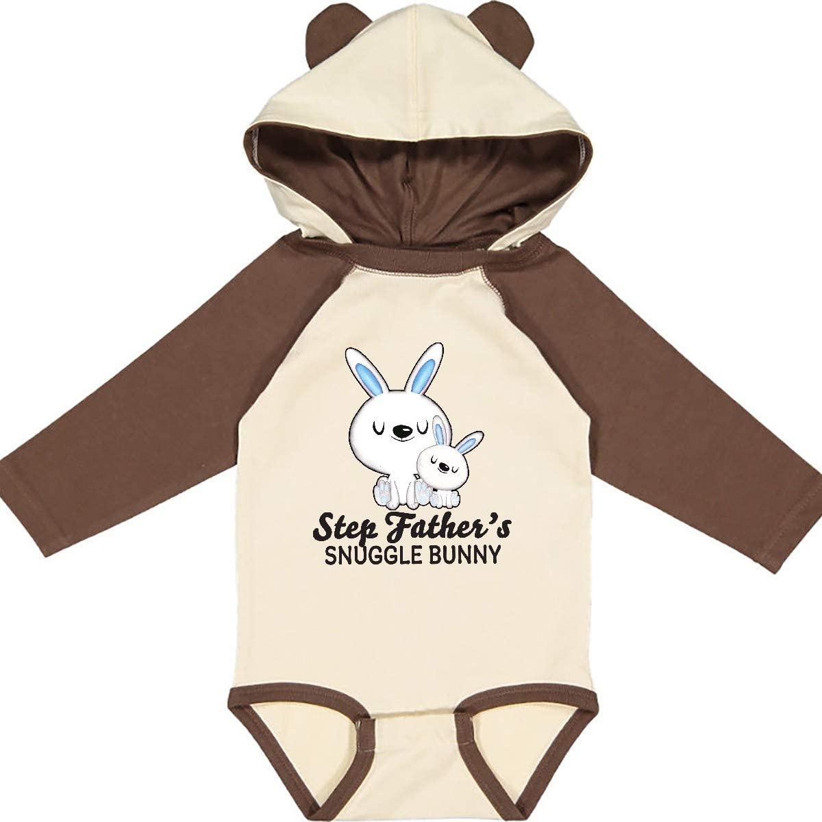 inktastic Step Dads Snuggle Bunny Easter Infant Creeper