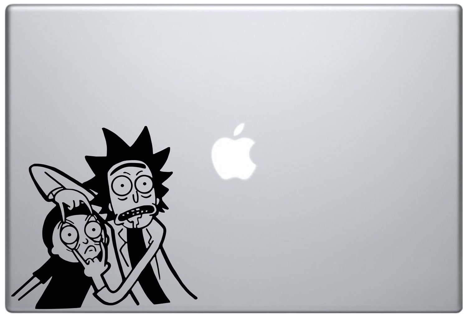 Rick and Morty Authentic Vinyl Sticker - Mac - iPhone - PC - Car by Crivean