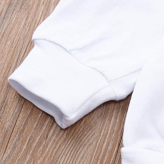 ... BBestseller Manga Larga para niños Suéter + pantalón a Rayas Traje de Dos Piezas Blusa Camisa Otoño e Invierno: Amazon.es: Ropa y accesorios
