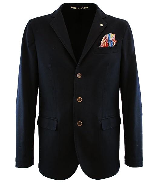 it Amazon Abbigliamento Giacca panno ALBI799 Uomo Atpco 52 Blu in 8qzfZ0w