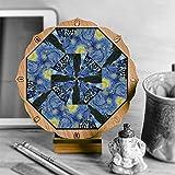 Magnetic Meditation Desk Mandala - Van Gogh