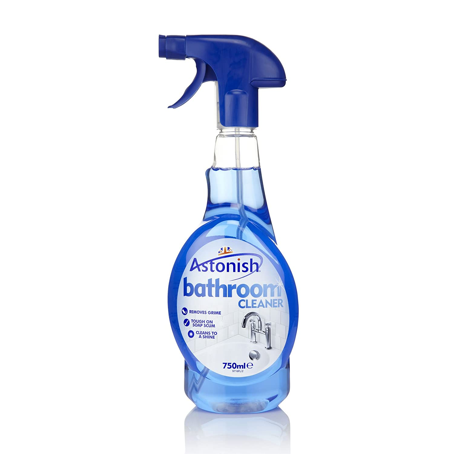 Zest bathroom cleaner - Astonish Bathroom Cleaner 750ml Spray Bottle