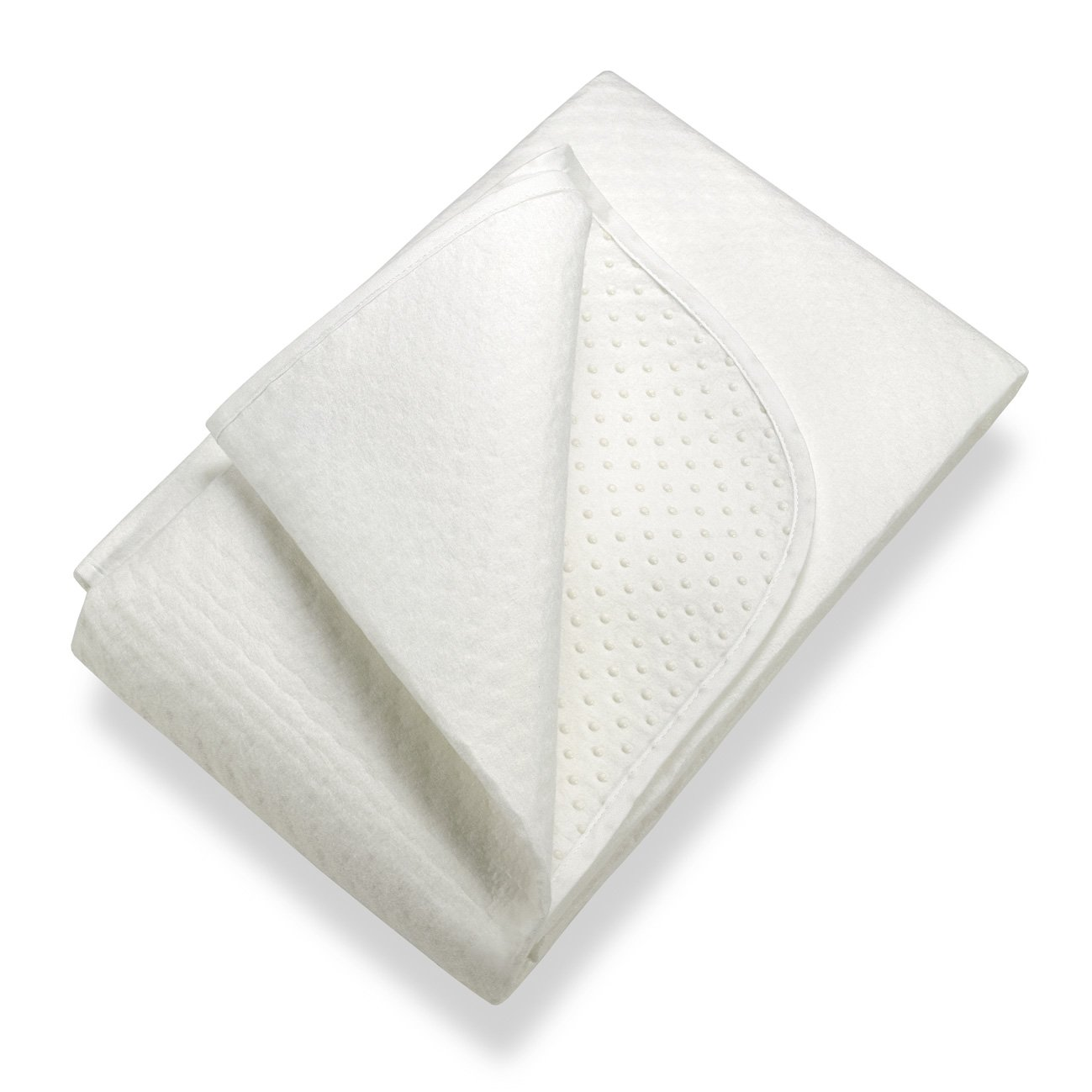 SETEX Isolateur de sommier, Points en latex, Taille 90 x 200 cm, Classic, N450 090200 151 002, Blanc
