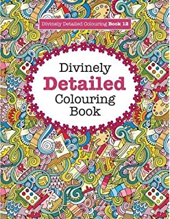 Divinely Detailed Colouring Book 12 Volume Books