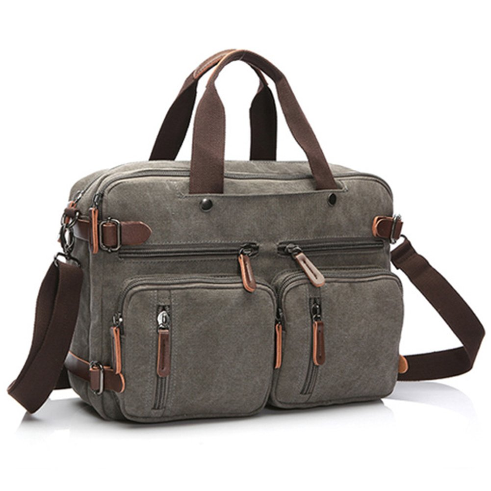 DREAM.ELK Laptop Briefcases 13.3-15.6 Inch Messenger Bag Handbag Include shoulder strap Sleeves Shoulder Bags Men Women for Notebook MacBook Ultrabook Chromebook Computers,15.6 Inch,grey