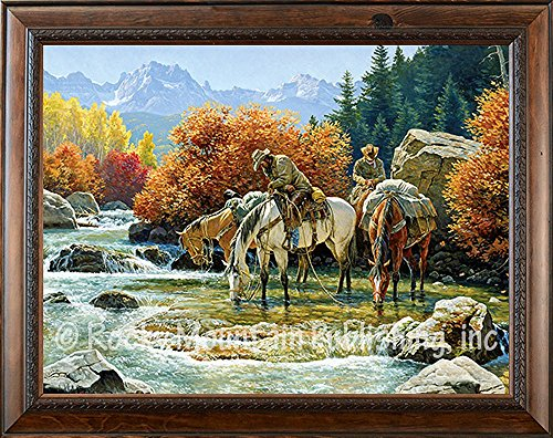 Clark Kelley Price - Souls Unwound - Giclee Canvas Custom Framed Art Print. All Ready to Hang on Your Wall. Made in The USA .!