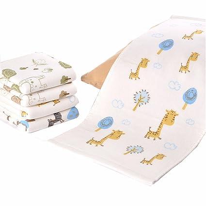 ITraveller bebé de bambú Estropajos cortinillas orgánicas, suave, Usar con favoritos Productos para el