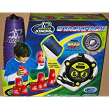 Speedstack METALLIC PURPLE Plastic Metallic Stackpack Stacking Competition Cups with Mat and Timer by Speed Stacks