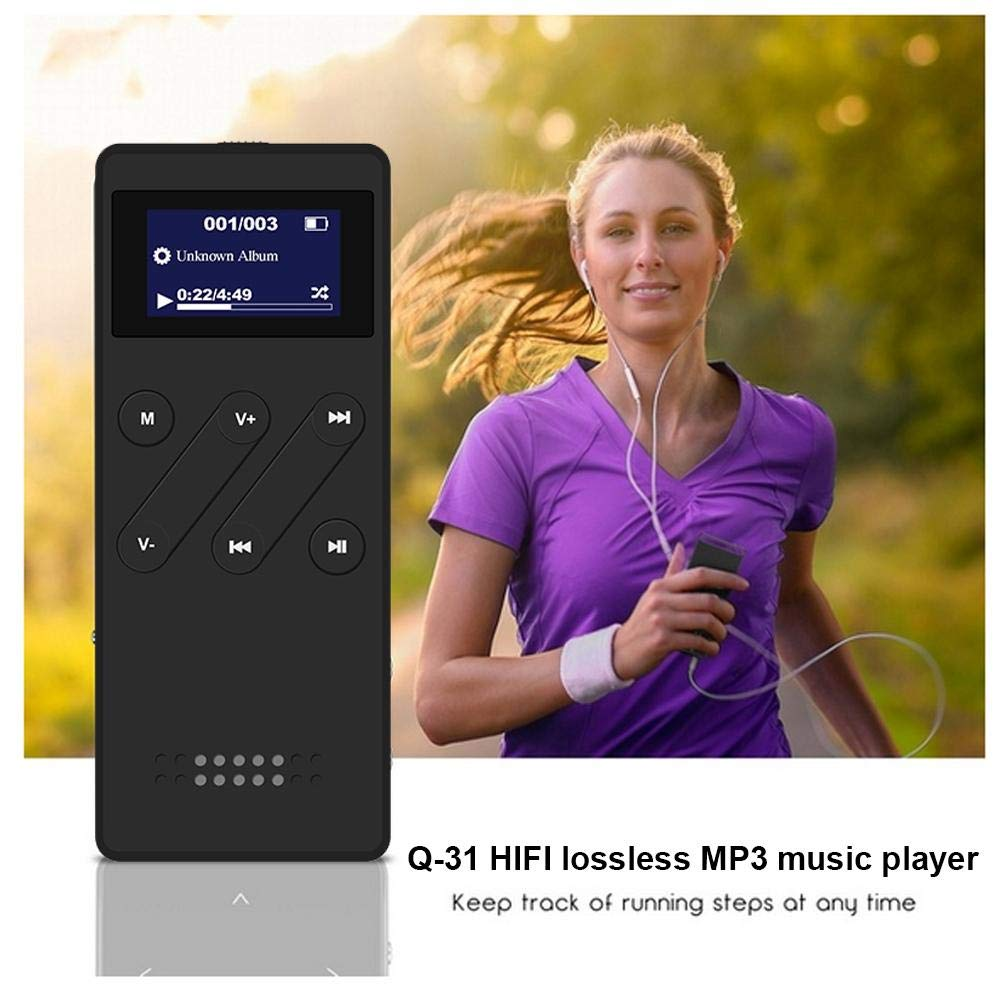 Gorge-buy MP3 Player Slim, Portable Music Player - Multi-Functional Touch Buttons & HiFi Lossless Sound Quality & FM Radio Recorder & Wired Headphone & 8GB Memory by Gorge-buy (Image #1)