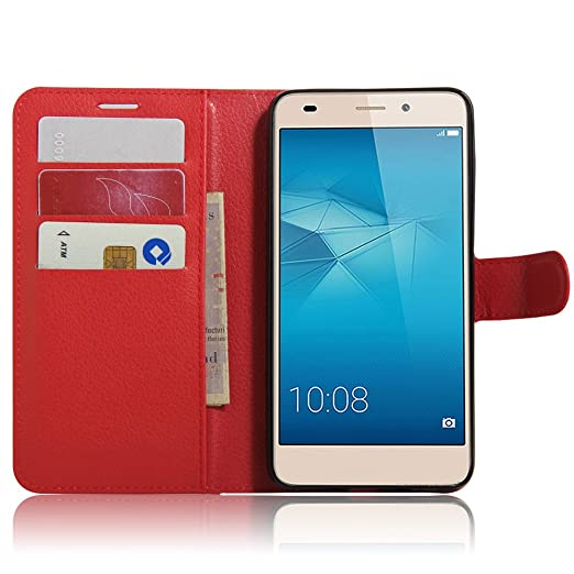 4 opinioni per Flip Cover per Huawei Honor 5C / Honor 7 Lite / GT3, Moonmini® Custodia Wallet a
