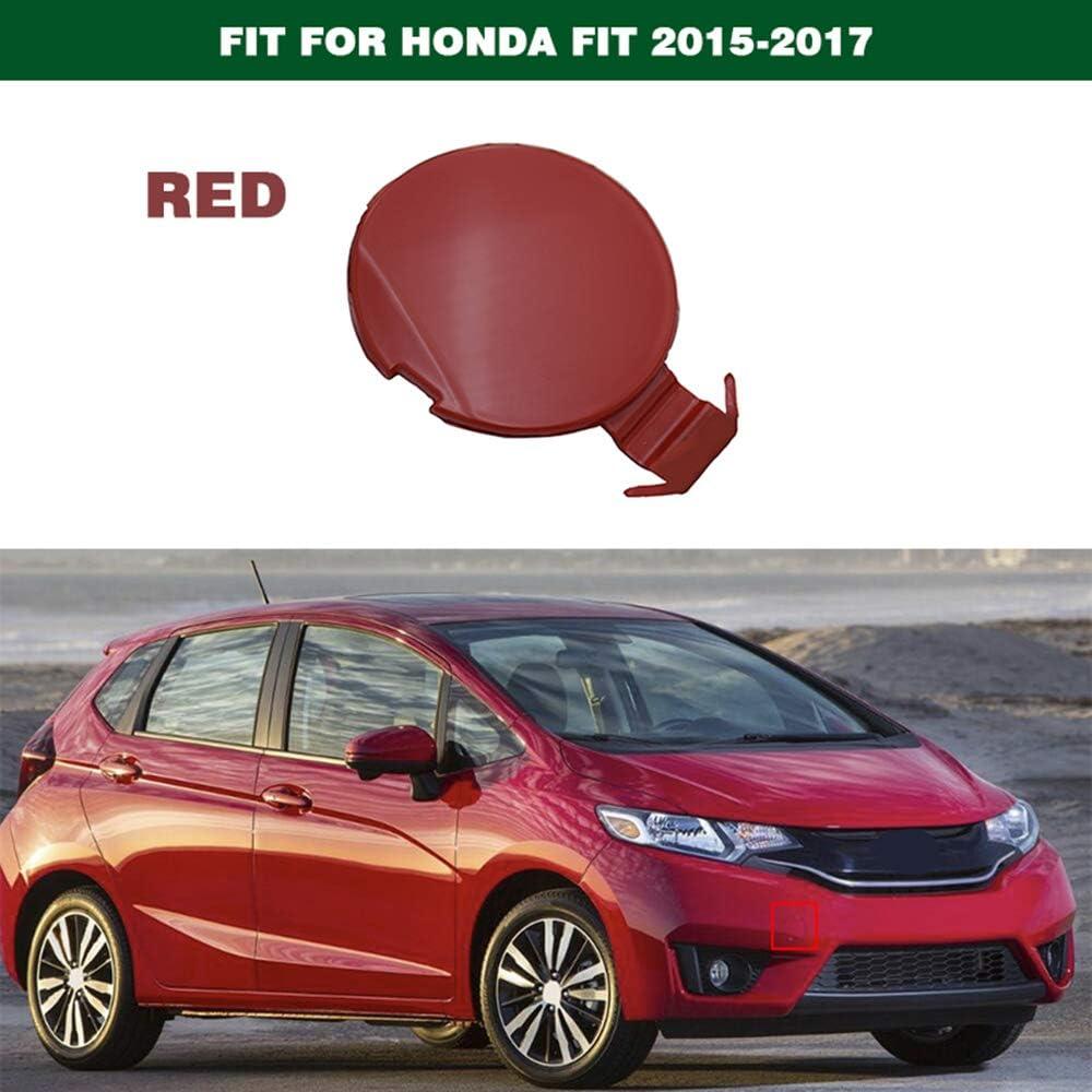 1PCS Front Bumper Tow Hook Cover Cap for Honda Fit 2015-2017
