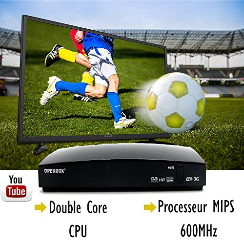 OPENBOX V8S Plus Digital Satellite TV Receiver Full HD 1080P DVB-S2