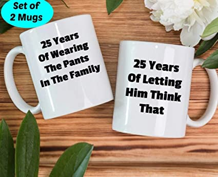 Amazon 25th Anniversary Gifts 25th Wedding Gift 25 Years Of