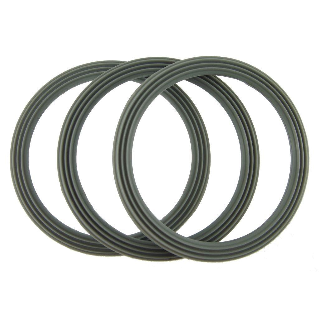 Ufixt® Kenwood FP734, FP735, FP905, FP910, FP911 and FP912 Liquidiser Sealing Base Ring - Ridged (Pack Of 3)