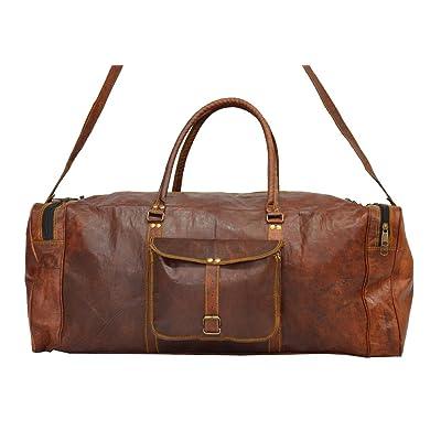 2dc2554a80 HIDE 1858 TM Men s Digital Rajasthan Leather Handmade Luggage Bag chic