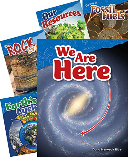 Earth and Space Science Grade 4: 5-Book Set (Science Readers: Content and - Literacy Reader