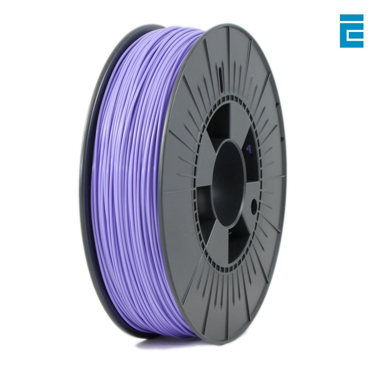ICE FILAMENTS ICEFIL1PLA017 PLA Filament, 1.75 mm, 0.75 kg, Perky Purple DF