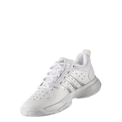 adidas Zapatillas Barricade Classic Blancas: Amazon.es ...
