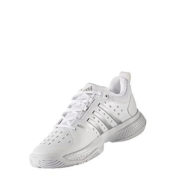 adidas Zapatillas Barricade Classic Blancas: Amazon.es: Deportes y aire libre