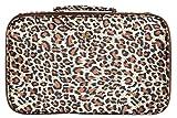 PurseN Amour Travel Case - Leopard/Brown