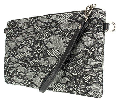 Girly Handbags - Cartera de mano Mujer gris claro