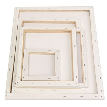 Amazon.com: Photo Frame & Accessories - White Blank Square Canvas ...
