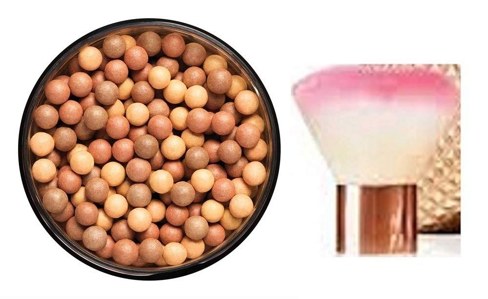 Avon Glow Bronzing Pearls & face brush - shade bronzed warm AVON Cosmetics