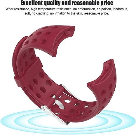 Amazon.com: Ashata - Correa de silicona para reloj de ...