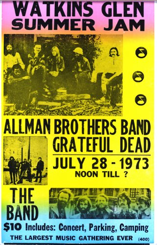 [Watkins Glen Summer Jam Featuring The Allman Brothers, Grateful Dead 14