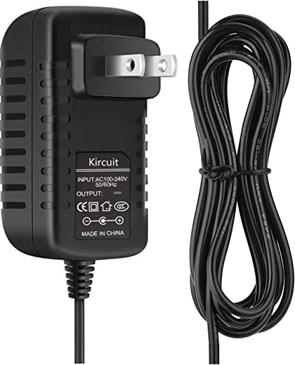 Kircuit 6.5Ft Cord Wall AC Adapter Cable for X Rocker 51296 xrocker pro hayneedle Audio Gaming Chair X Rocker 51259 X Rocker Pro H3 4.1 Wireless Audio Gaming Chair